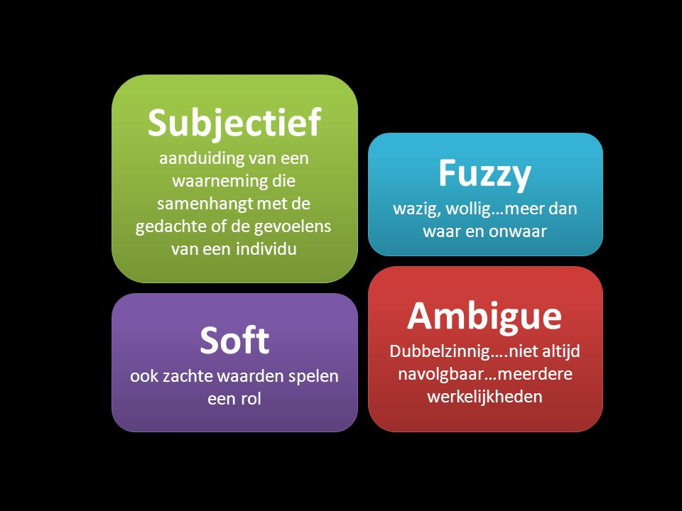 Subjectief Fuzzy Ambigue Soft