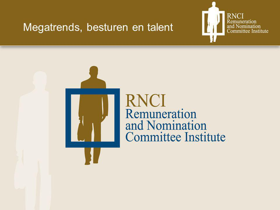 Megatrends, besturen en talent