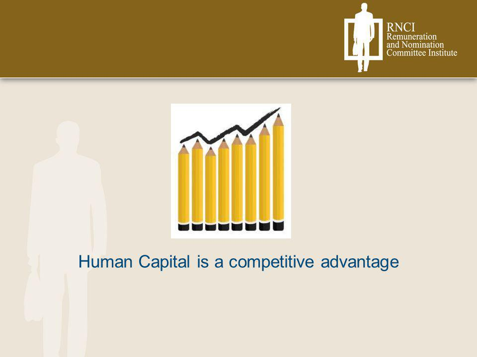 Human Capital is a competitive advantage