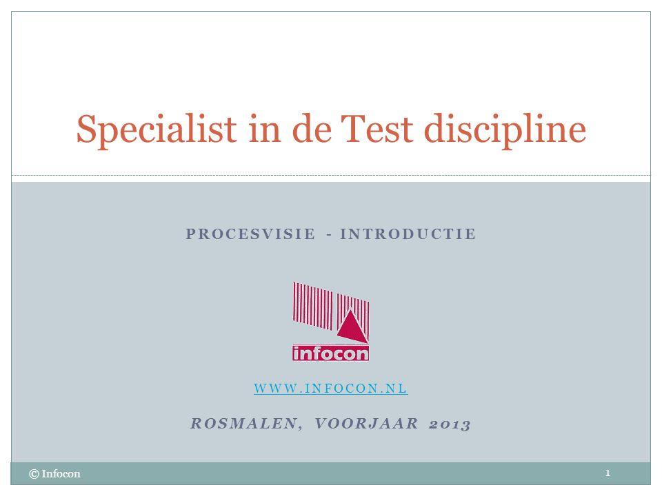 Specialist in de Test discipline