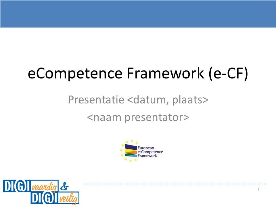 eCompetence Framework (e-CF)