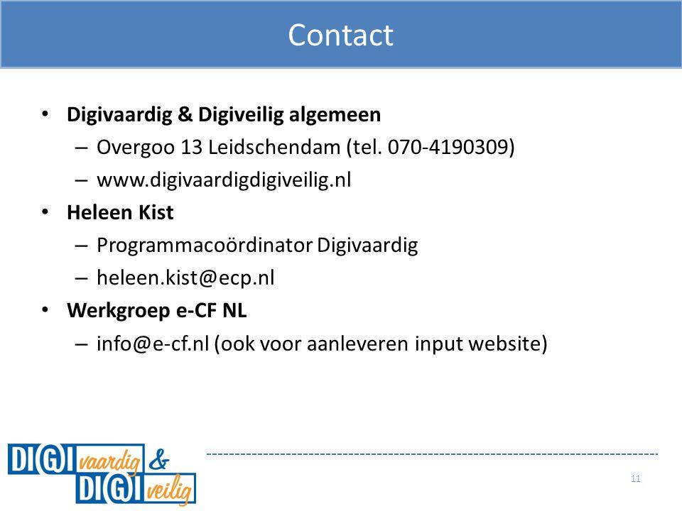 Contact Digivaardig & Digiveilig algemeen