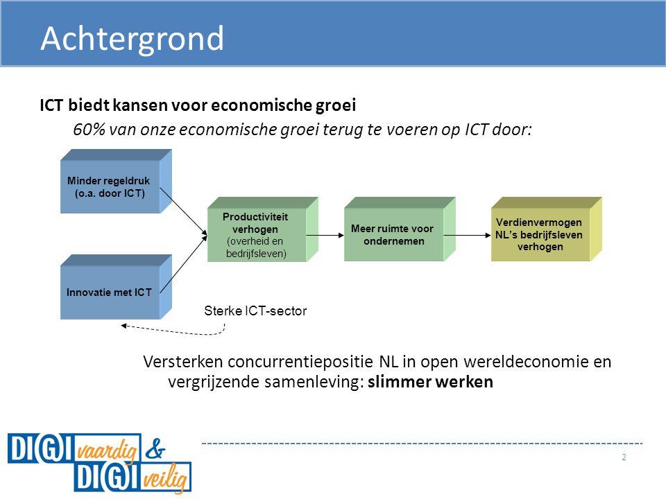 Achtergrond ICT biedt kansen voor economische groei