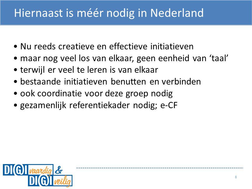 Hiernaast is méér nodig in Nederland