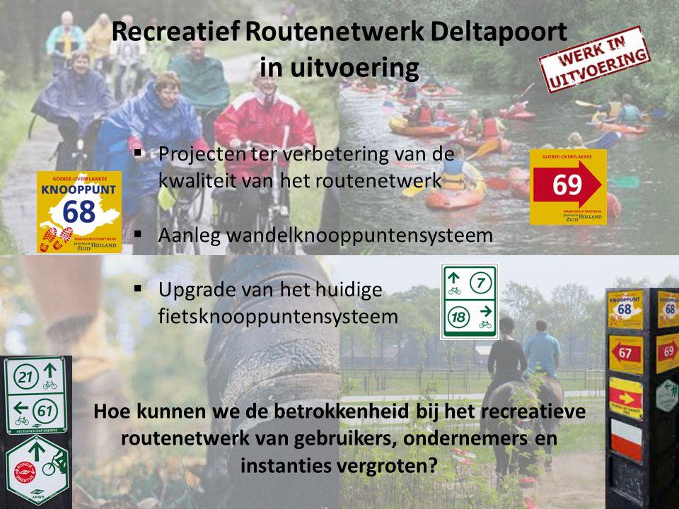 Recreatief Routenetwerk Deltapoort