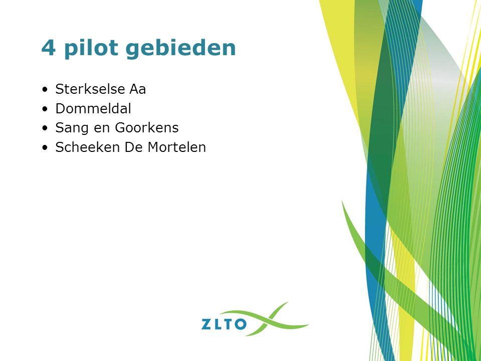 4 pilot gebieden Sterkselse Aa Dommeldal Sang en Goorkens