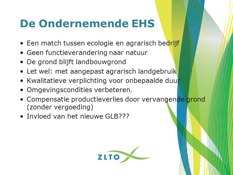 De Ondernemende EHS Een match tussen ecologie en agrarisch bedrijf