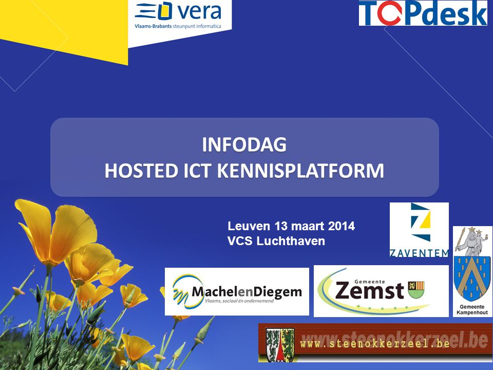 INFODAG HOSTED ICT KENNISPLATFORM