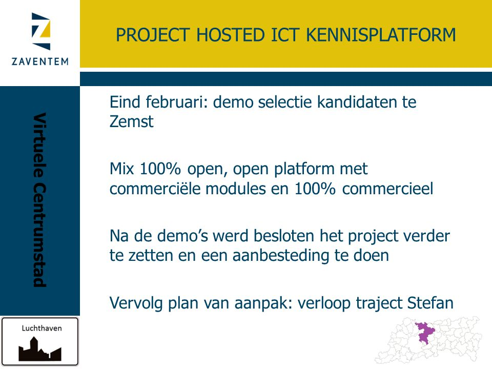 Project HOSTED ICT KENNISPLATFORM