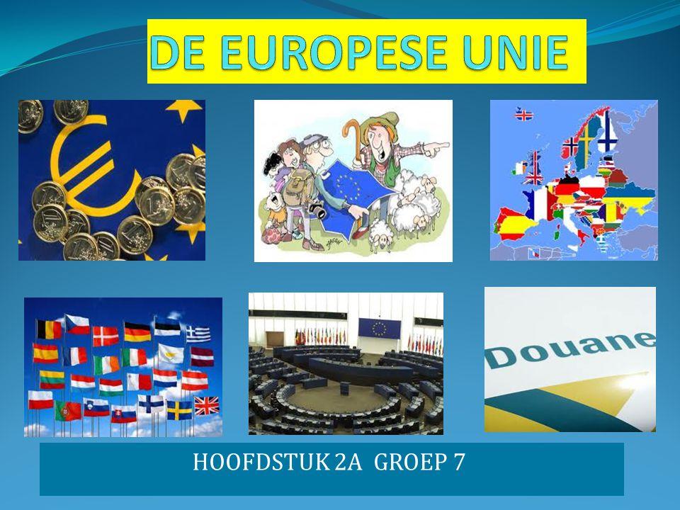DE EUROPESE UNIE HOOFDSTUK 2A GROEP 7