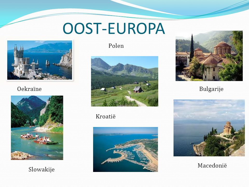 OOST-EUROPA Polen Oekraïne Bulgarije Kroatië Macedonië Slowakije