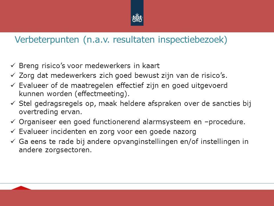 Verbeterpunten (n.a.v. resultaten inspectiebezoek)