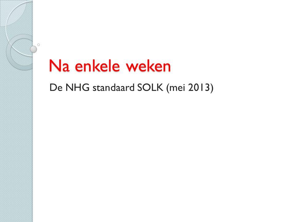 De NHG standaard SOLK (mei 2013)