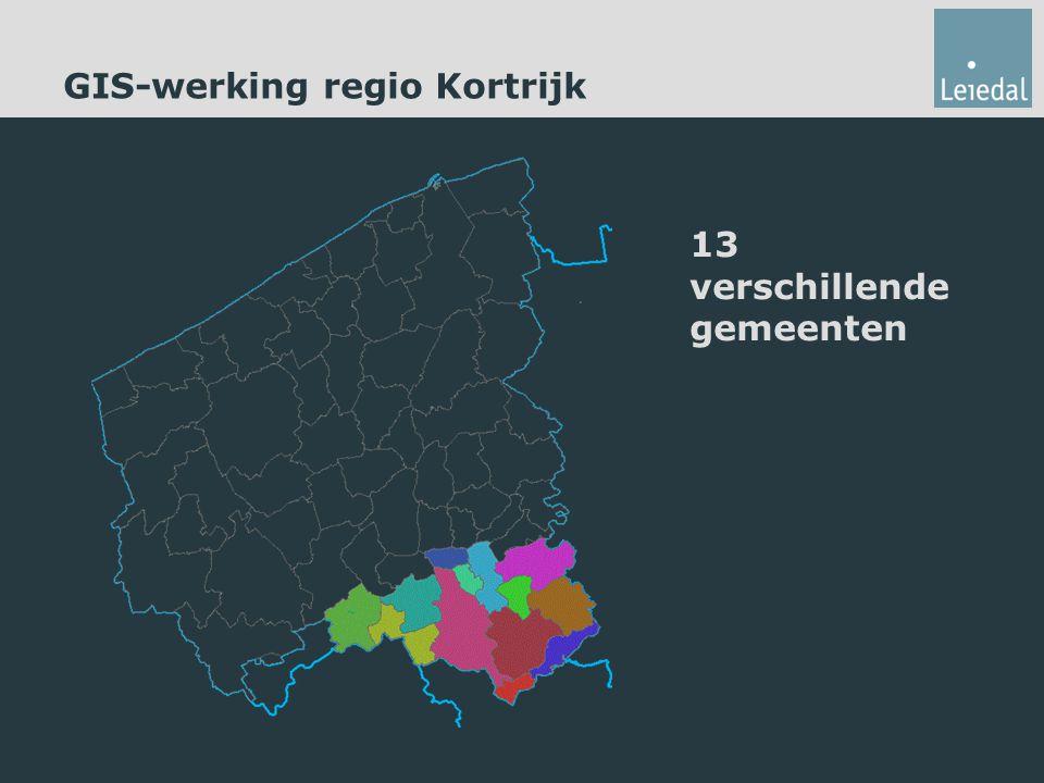 GIS-werking regio Kortrijk