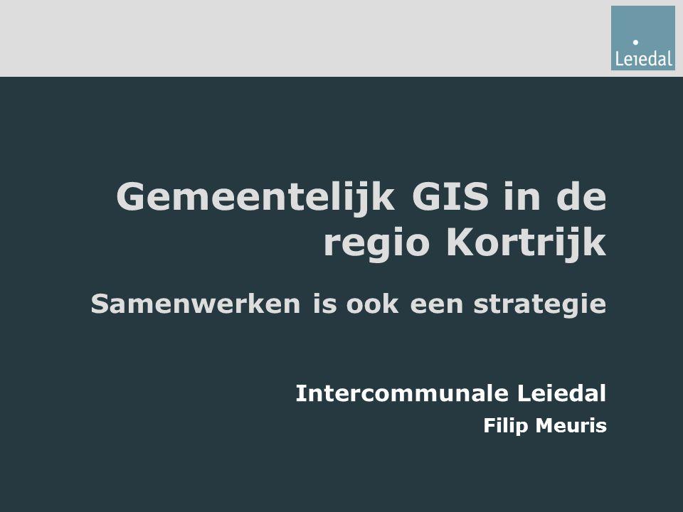 Gemeentelijk GIS in de regio Kortrijk
