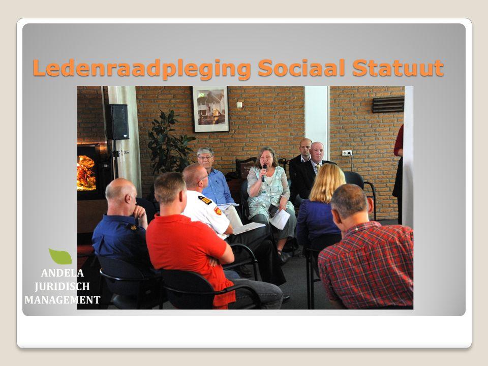 Ledenraadpleging Sociaal Statuut