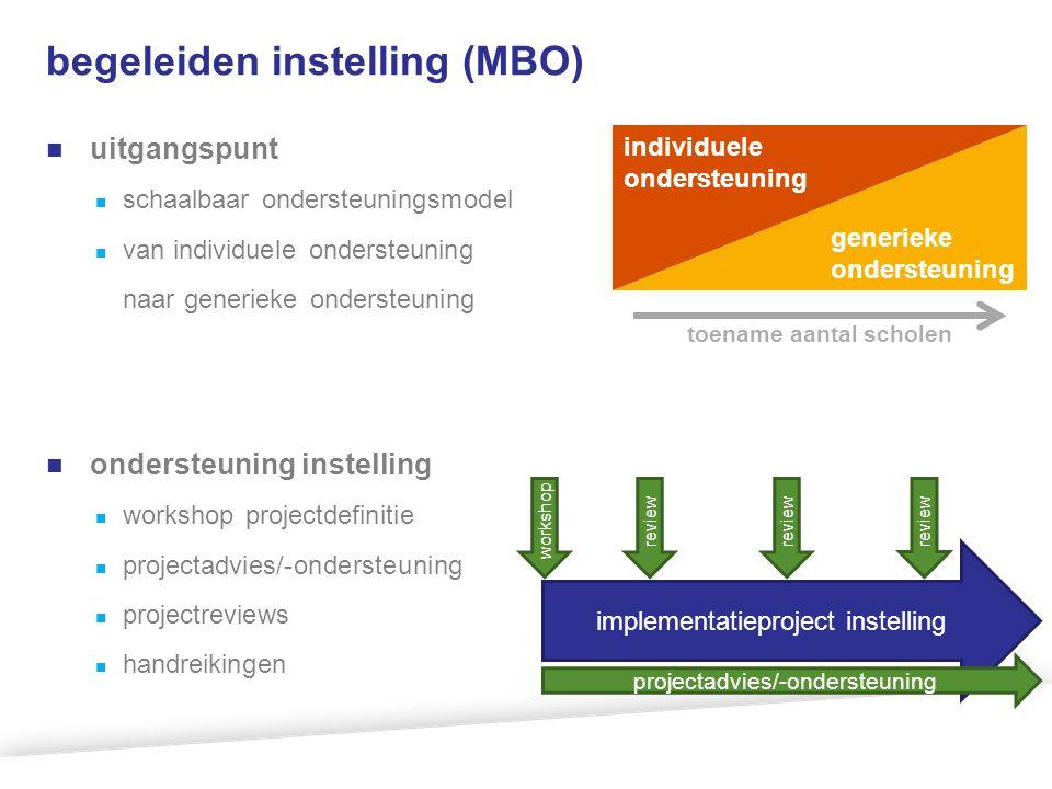 begeleiden instelling (MBO)