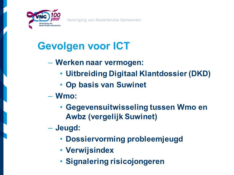 Gevolgen voor ICT Werken naar vermogen: