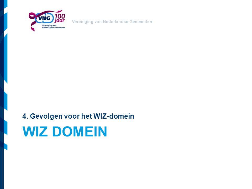 4. Gevolgen voor het WIZ-domein