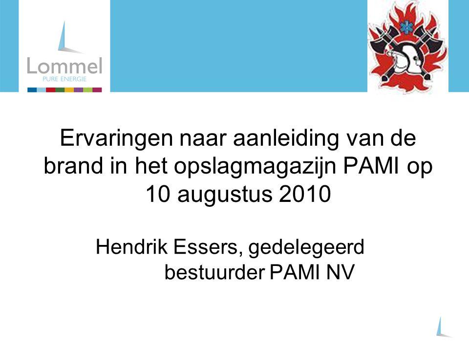 Hendrik Essers, gedelegeerd bestuurder PAMI NV
