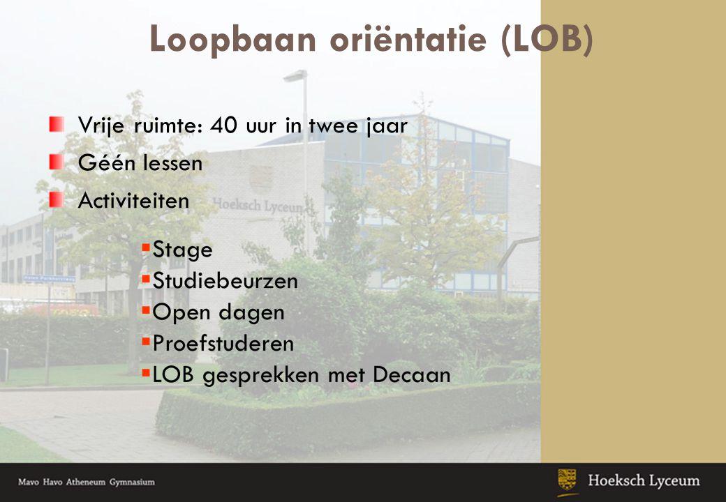 Loopbaan oriëntatie (LOB)