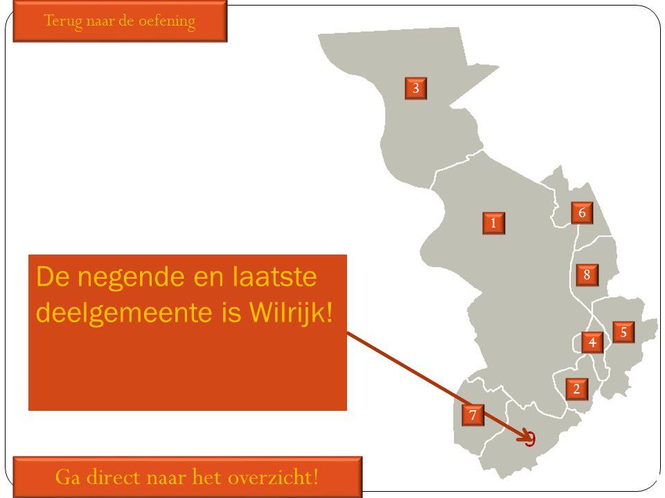 De negende en laatste deelgemeente is Wilrijk!
