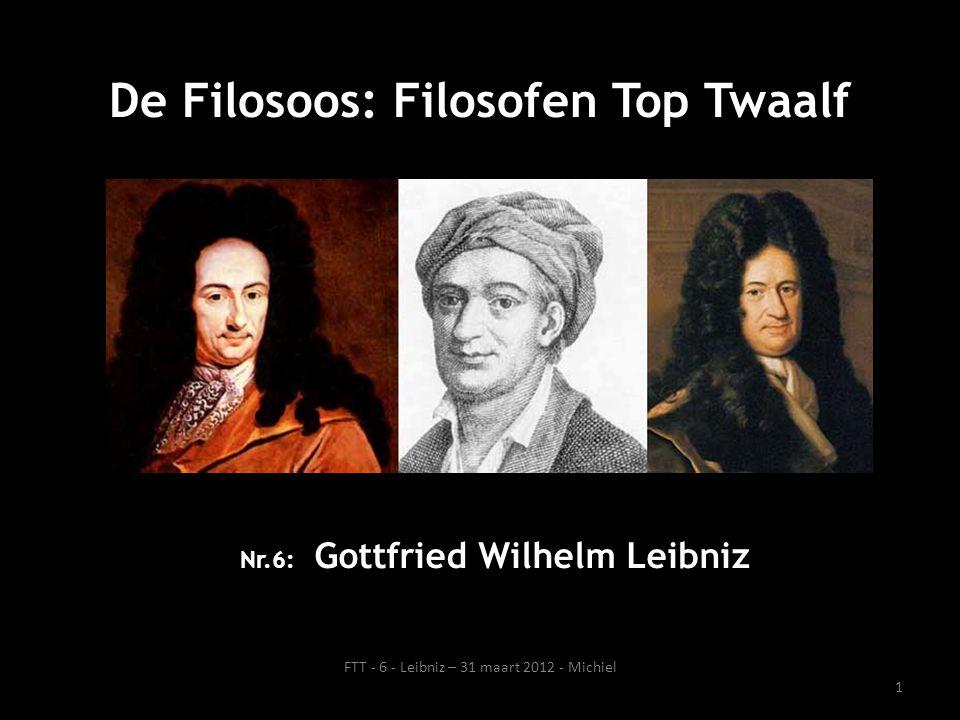 Nr.6: Gottfried Wilhelm Leibniz