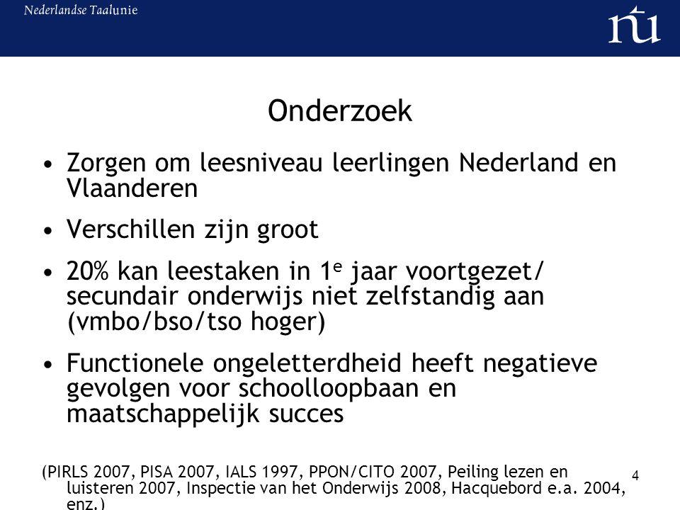 Onderzoek Zorgen om leesniveau leerlingen Nederland en Vlaanderen