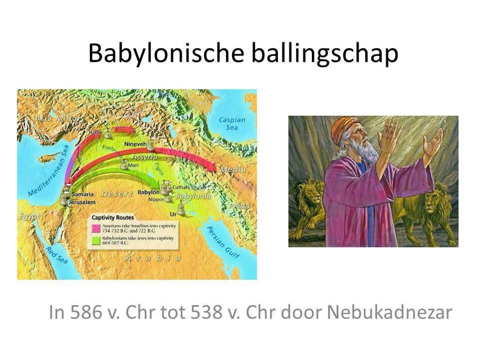 Babylonische ballingschap