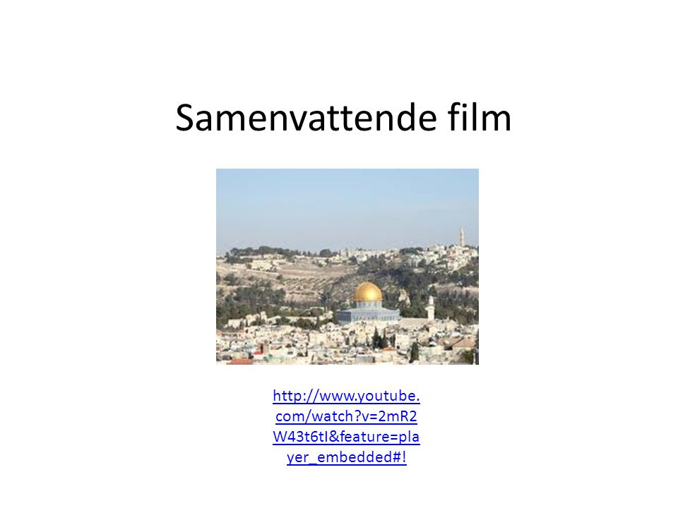Samenvattende film   v=2mR2W43t6tI&feature=player_embedded#!
