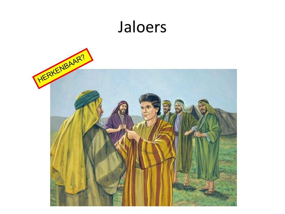 Jaloers HERKENBAAR