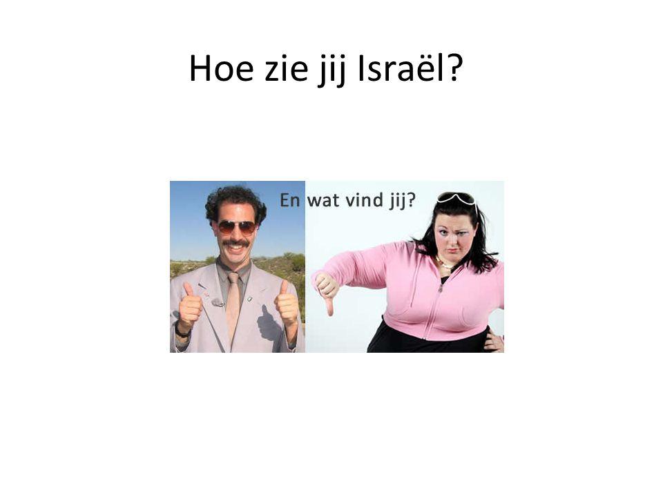 Hoe zie jij Israël