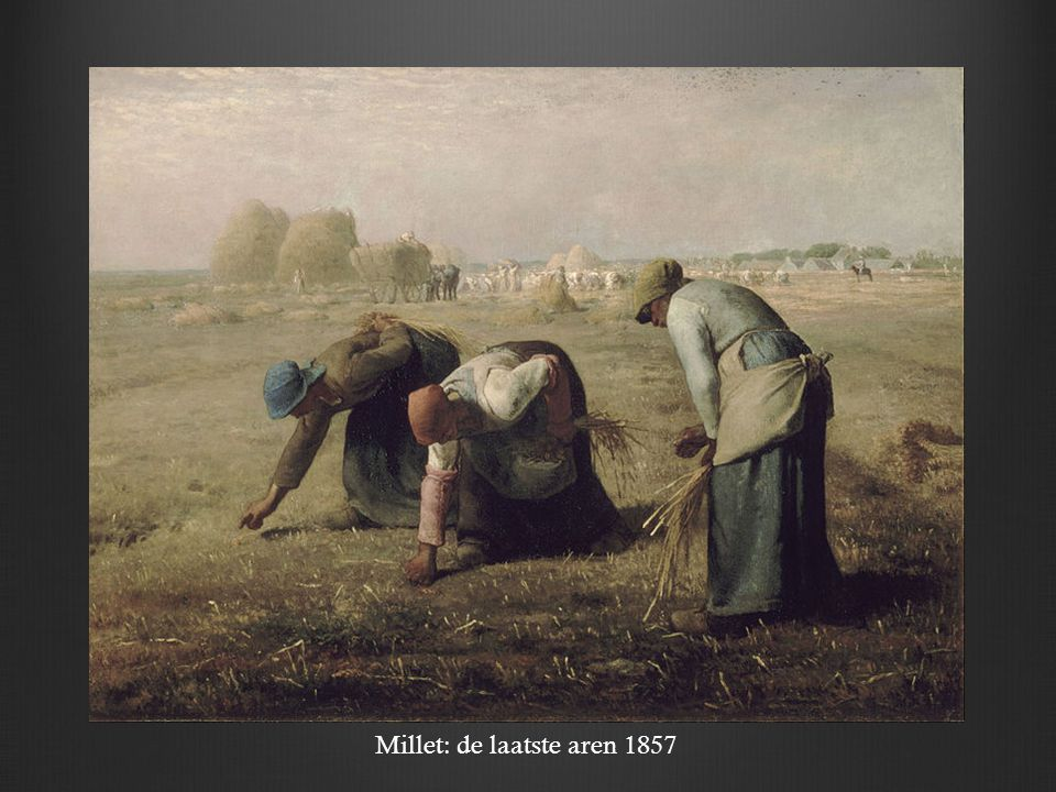Millet: de laatste aren 1857