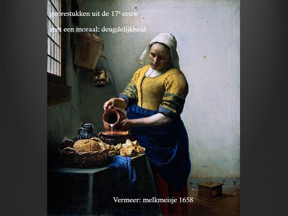 genrestukken uit de 17e eeuw