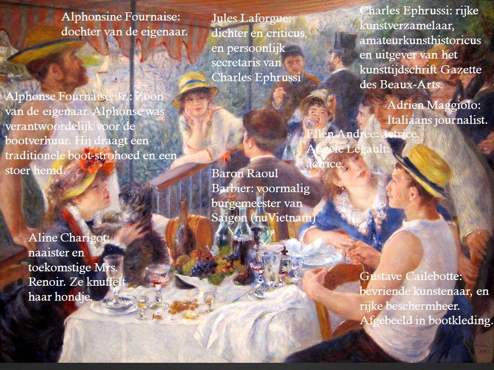 Charles Ephrussi: rijke kunstverzamelaar, amateurkunsthistoricus en uitgever van het kunsttijdschrift Gazette des Beaux-Arts.