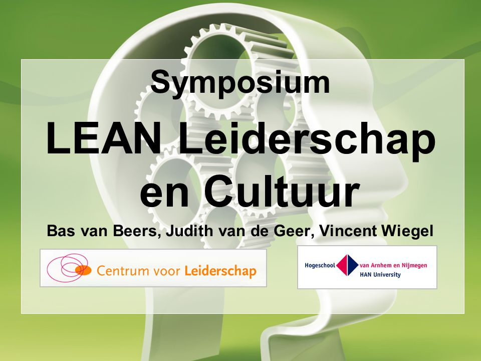 LEAN Leiderschap en Cultuur