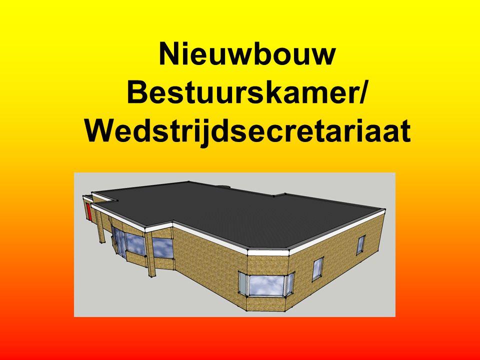 Nieuwbouw Bestuurskamer/ Wedstrijdsecretariaat