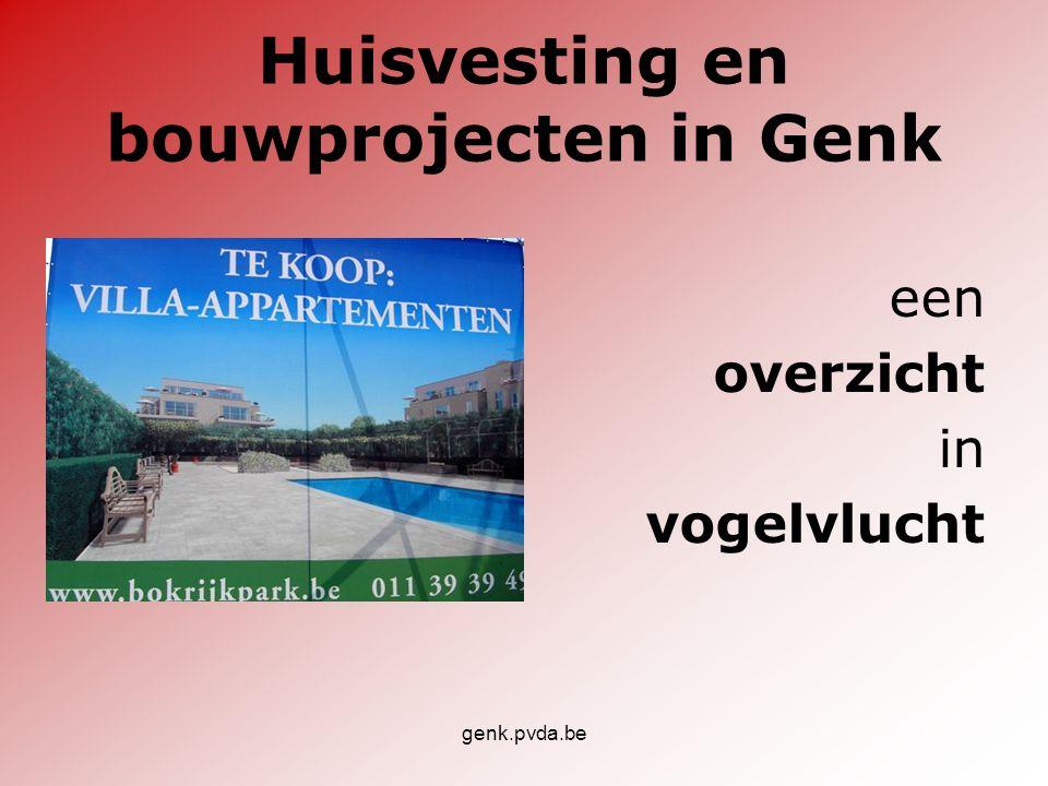 Huisvesting en bouwprojecten in Genk