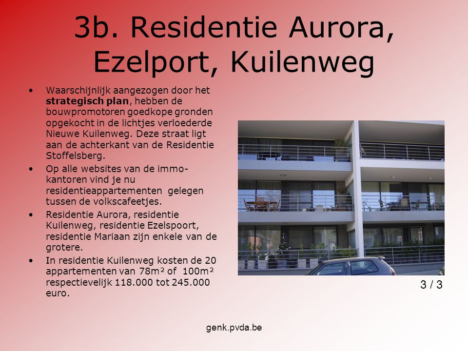 3b. Residentie Aurora, Ezelport, Kuilenweg