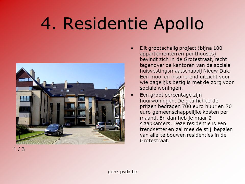 4. Residentie Apollo