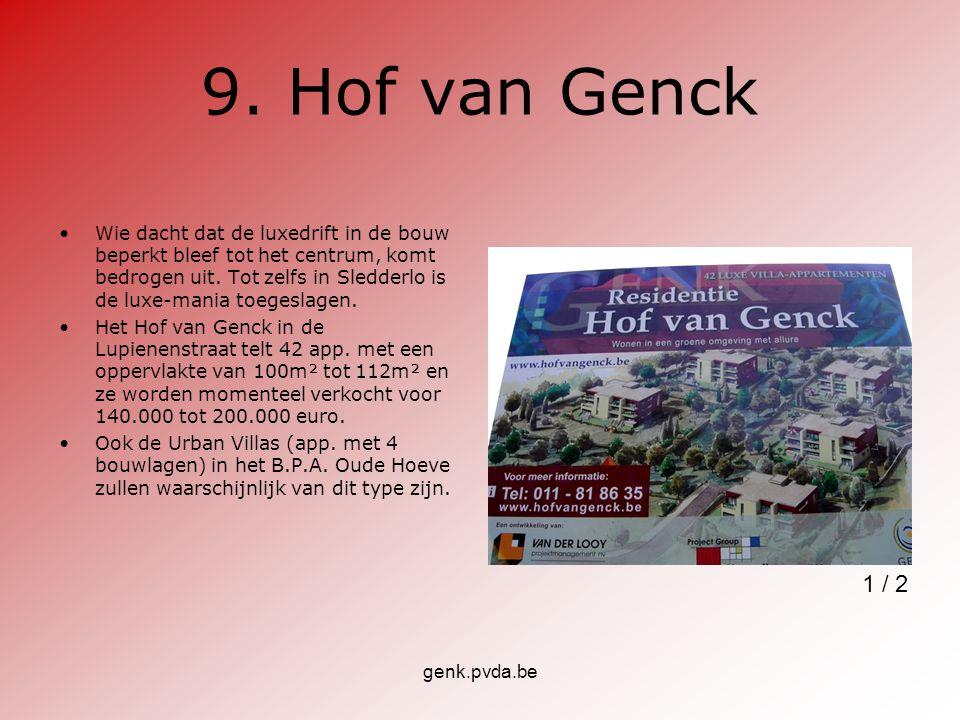 9. Hof van Genck