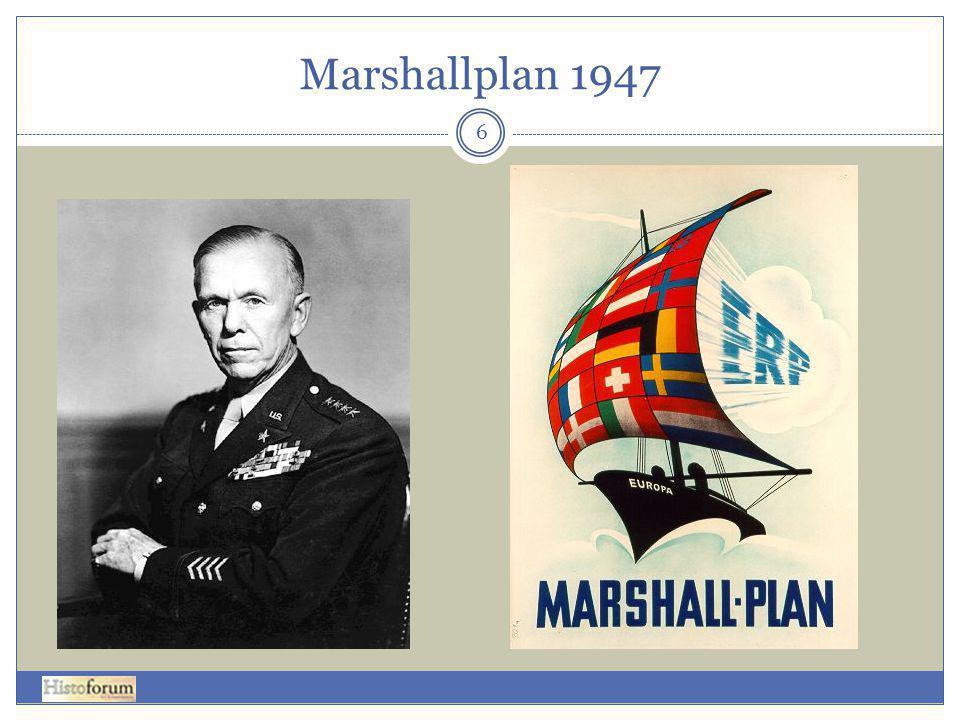 Marshallplan 1947