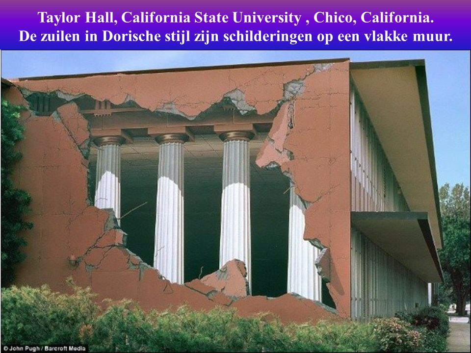 Taylor Hall, California State University , Chico, California.
