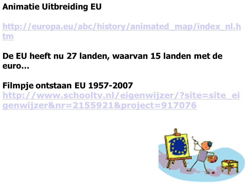 Animatie Uitbreiding EU