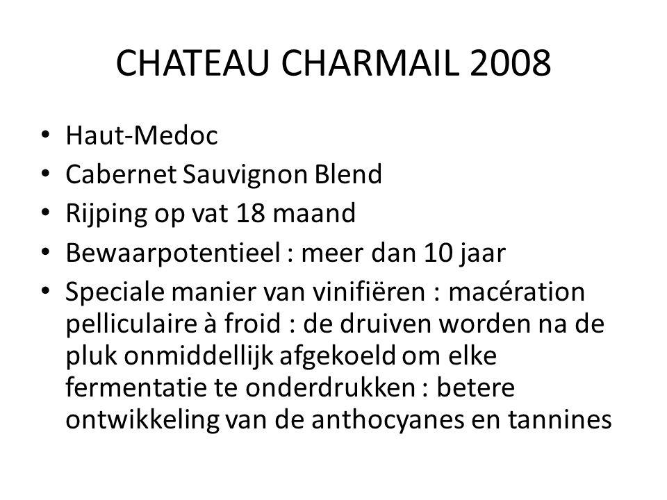 CHATEAU CHARMAIL 2008 Haut-Medoc Cabernet Sauvignon Blend