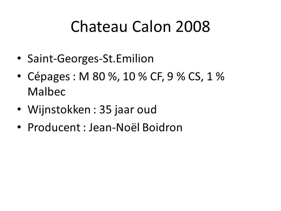 Chateau Calon 2008 Saint-Georges-St.Emilion