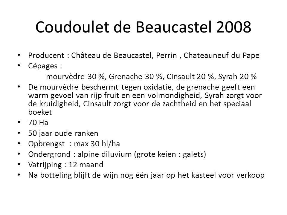 Coudoulet de Beaucastel 2008