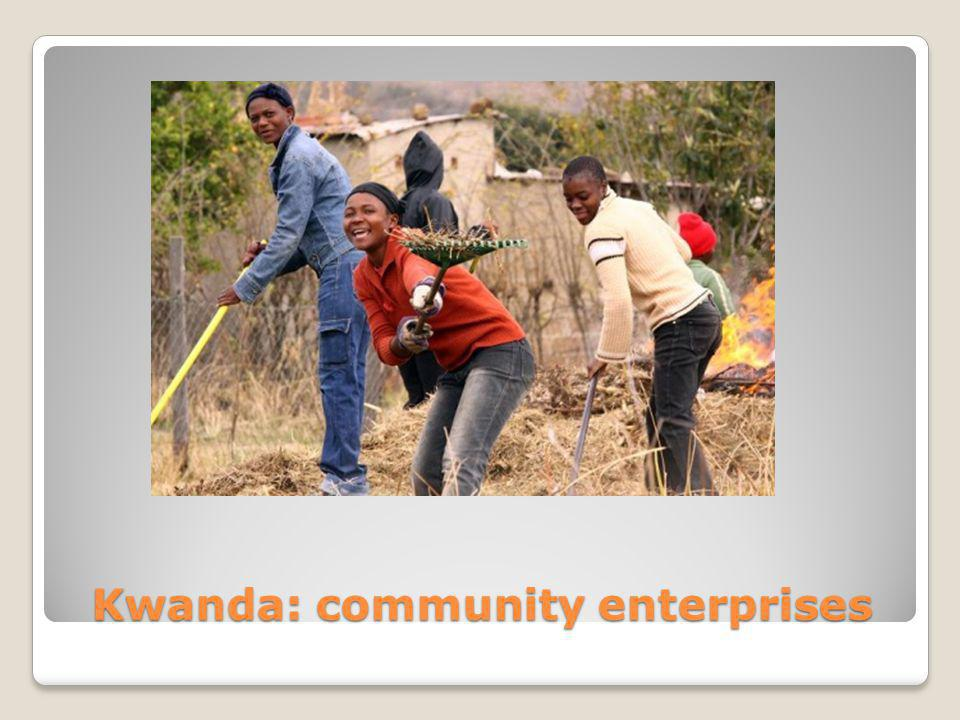 Kwanda: community enterprises