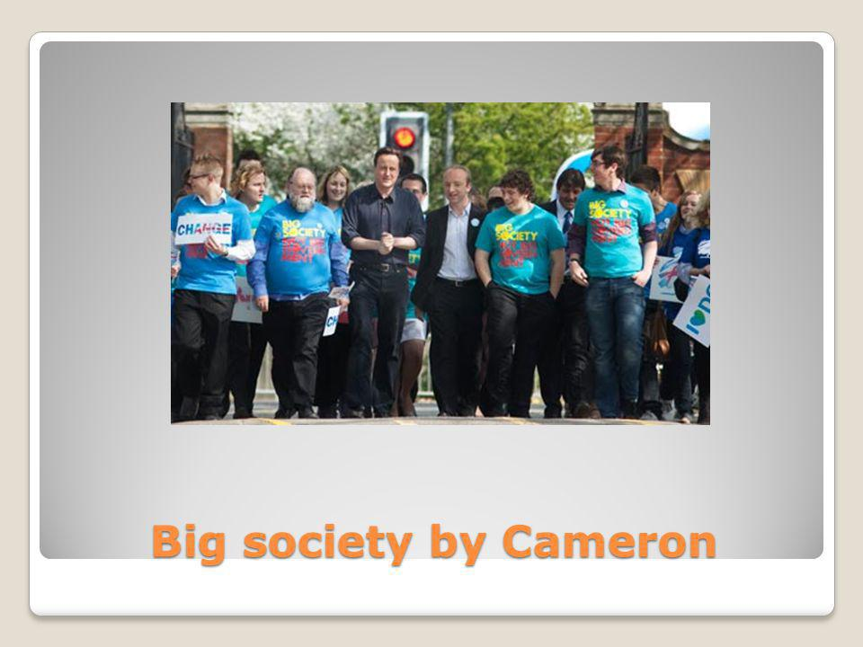 Big society by Cameron