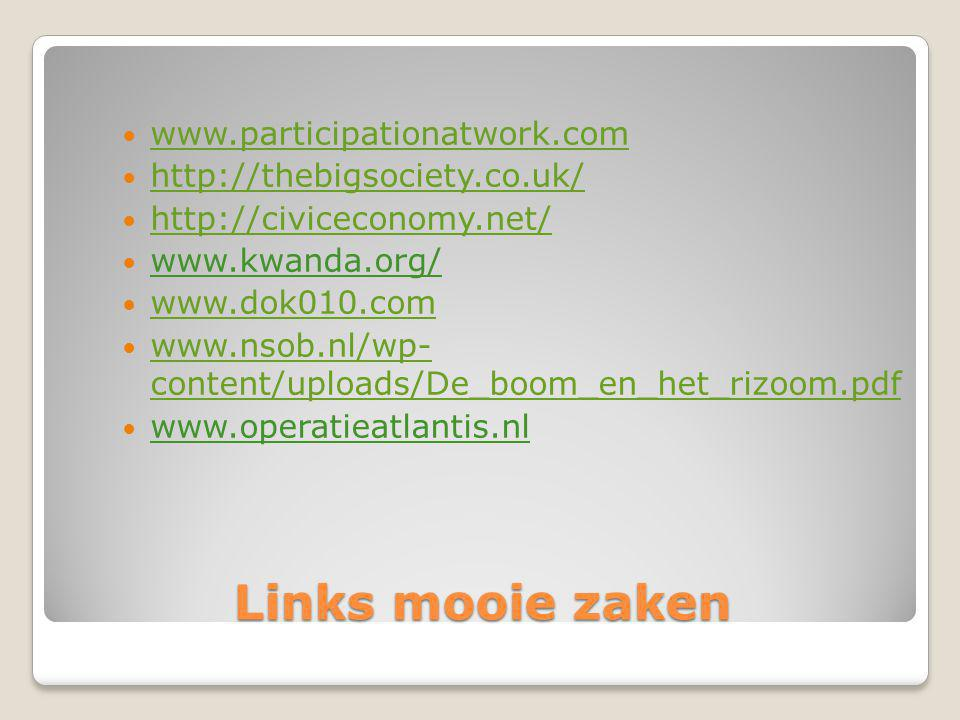 Links mooie zaken www.participationatwork.com